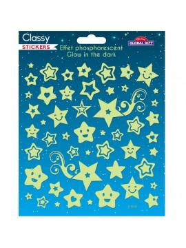CLASSY GLOW STICKERS 15X17CM 215005