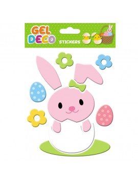 EASTER GEL STICKERS 13X17CM 320401