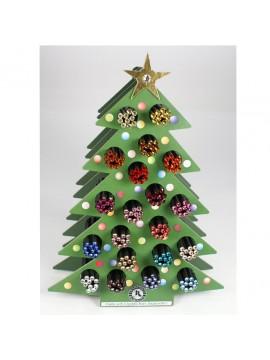 ΜΟΛΥΒΙΑ ΜΕ SWAROVSKI ΣΕ ΣΤΑΝΤ CHRISTMAS TREE 200 ΤΜΧ. ΑΣΟΡΤΙ ΧΡΩΜΑΤΑ