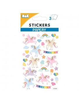 PAPERY STICKERS 8X13CM 145081