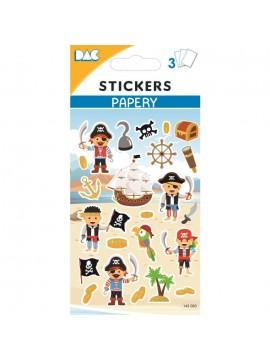 PAPERY STICKERS 8X13CM 145083