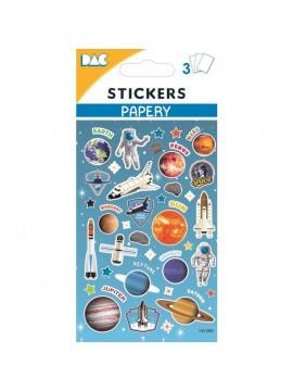 PAPERY STICKERS 8X13CM 145084