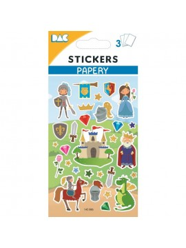 PAPERY STICKERS 8X13CM 145086