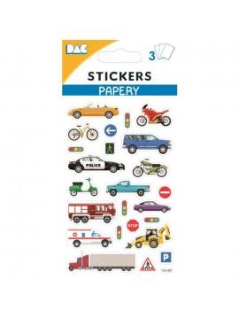 PAPERY STICKERS 8X13CM 145087
