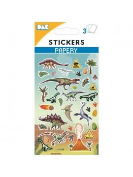 PAPERY STICKERS 8X13CM 145088