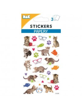 PAPERY STICKERS 8X13CM 145089