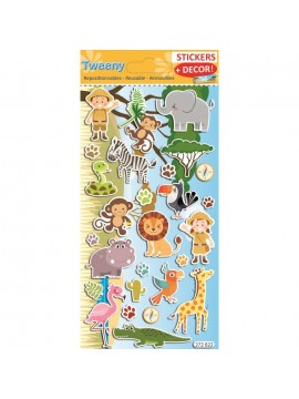 TWEENY DECOR STICKERS 9X17.5CM 272022