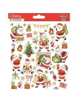CLASSY CHRISTMAS STICKERS 15X17CM 212020