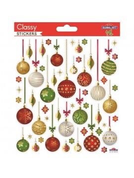 CLASSY CHRISTMAS STICKERS 15X17CM 212025