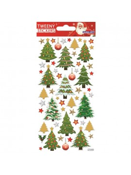 TWEENY CHRISTMAS STICKERS 9X17.5CM 270600