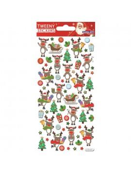 TWEENY CHRISTMAS STICKERS 9X17.5CM 270607