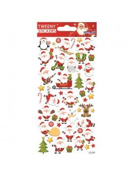 TWEENY CHRISTMAS STICKERS 9X17.5CM 270608