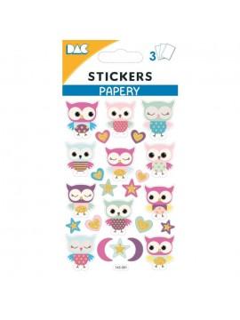 PAPERY STICKERS 8X13CM 145091