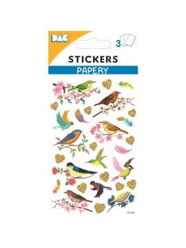 PAPERY STICKERS 8X13CM 145095
