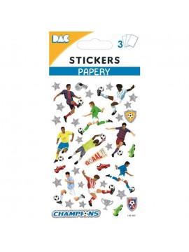 PAPERY STICKERS 8X13CM 145097