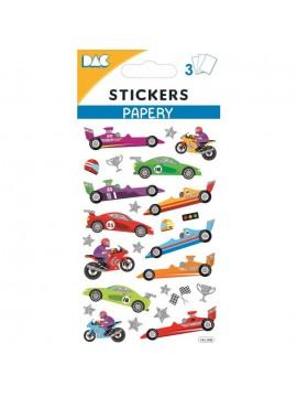 PAPERY STICKERS 8X13CM 145098
