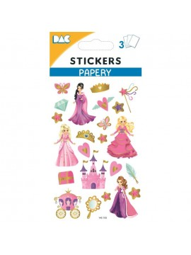 PAPERY STICKERS 8X13CM 145105