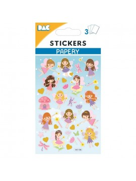 PAPERY STICKERS 8X13CM 145106