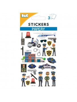 PAPERY STICKERS 8X13CM 145110