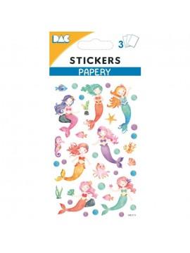 PAPERY STICKERS 8X13CM 145111
