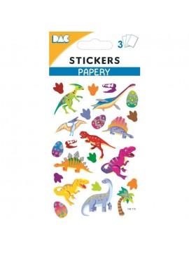 PAPERY STICKERS 8X13CM 145115