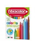 """Μαρκαδόροι παιδικοί λεπτοί """"new colorito"""" χρωματιστό καπάκι"""