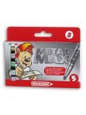 """Μαρκαδόροι """"metal max"""" & """"mini metal max"""""""