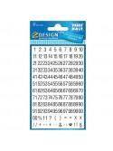 Stickers αριθμοί - γράμματα